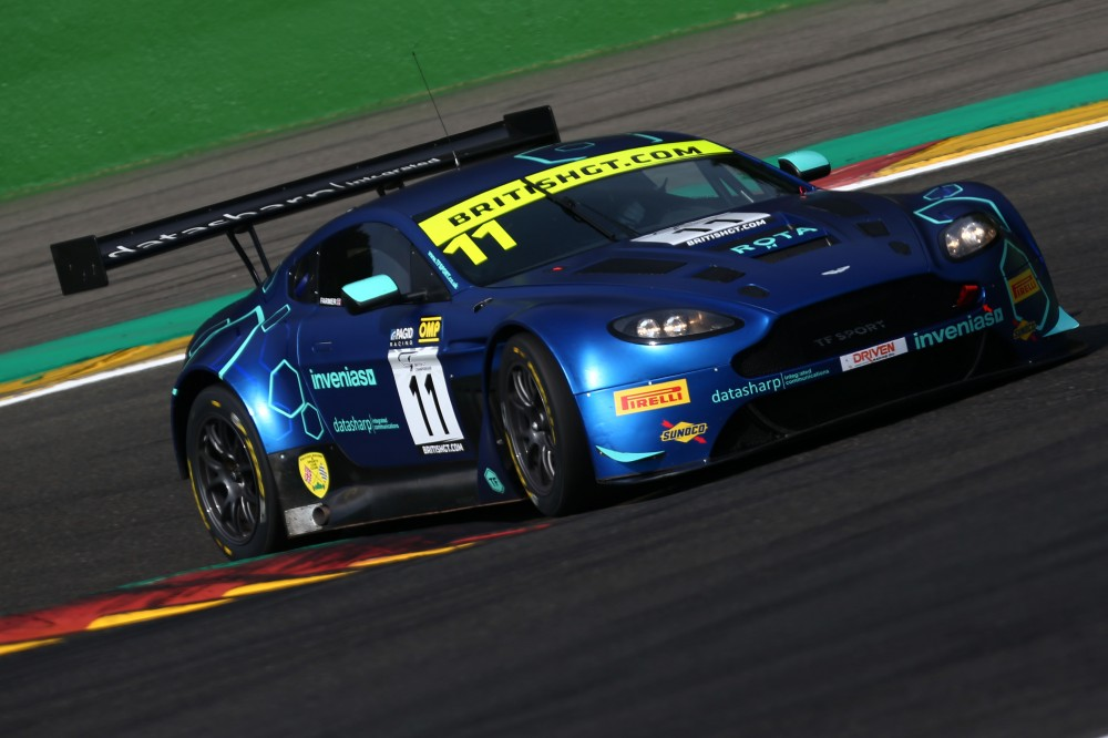 FP1: Thiim and Fagg fastest in first practice at Spa-Francorchamps