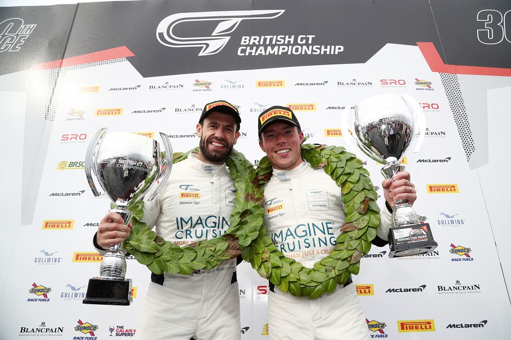 Fletcher and Plowman step up to British GT3 with JRM and Bentley