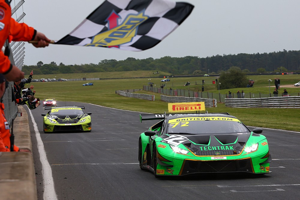 Barwell's Balon and Keen double up at Snetterton while Team Parker's heartbreak hands Tolman GT4 victory
