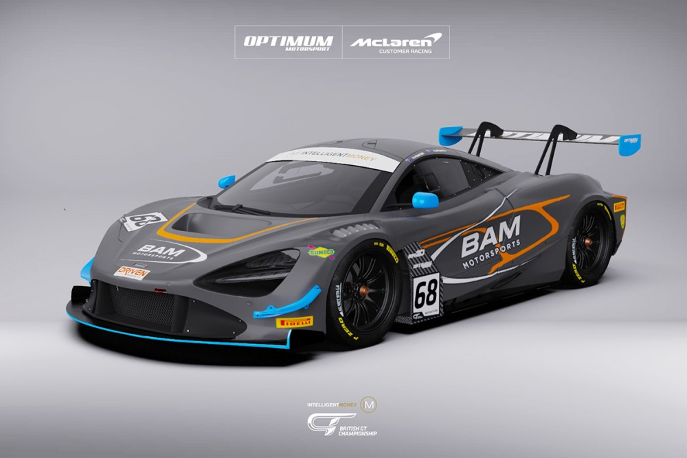 Optimum make McLaren GT3 switch with Australian duo Berry and Foster