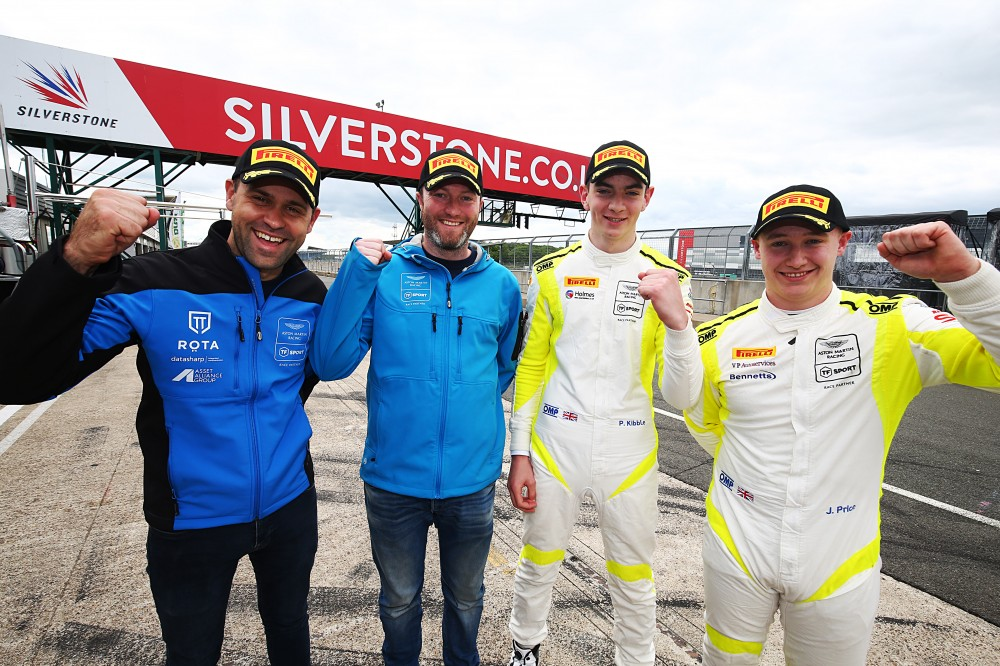 TF Sport's Davidson/Adam and Kibble/Price seal Silverstone 500 qualifying clean sweep