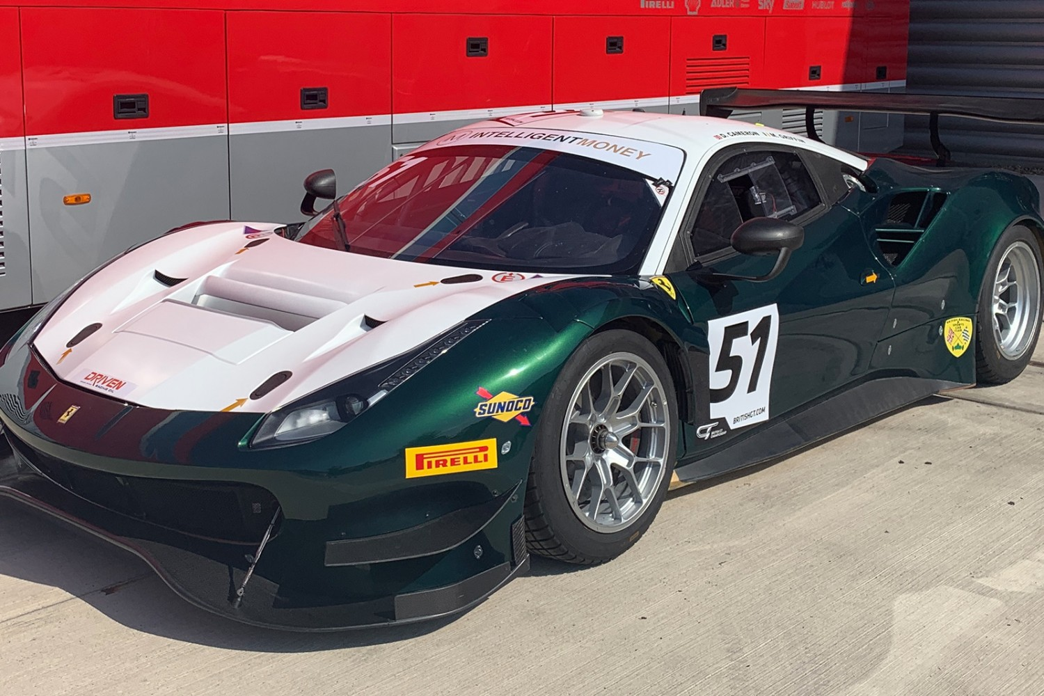 AF Corse UK brings new Ferrari to British GT