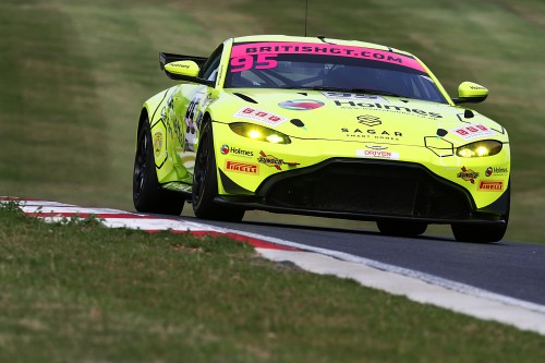 View article: Kibble and O'Brien team-up in TF Sport's first Aston GT4 entry