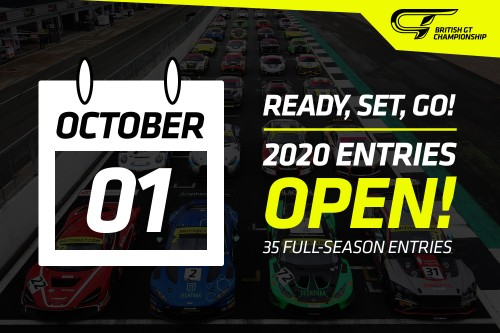 View article: Entries open for British GT 2020