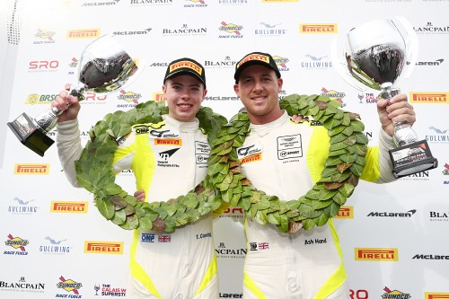 View article: GT4: Steller take victory but it's Canning and Hand's title at #DoningtonDecider