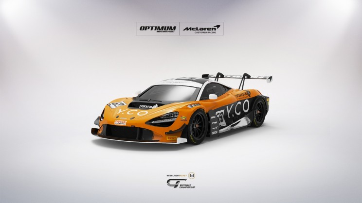 View article: Optimum add McLaren GT3 for Proctor and Silver Cup champion Wilkinson